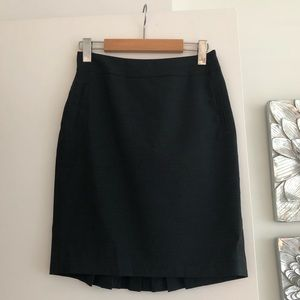 MEXX Dark Grey Pleated Pencil Skirt